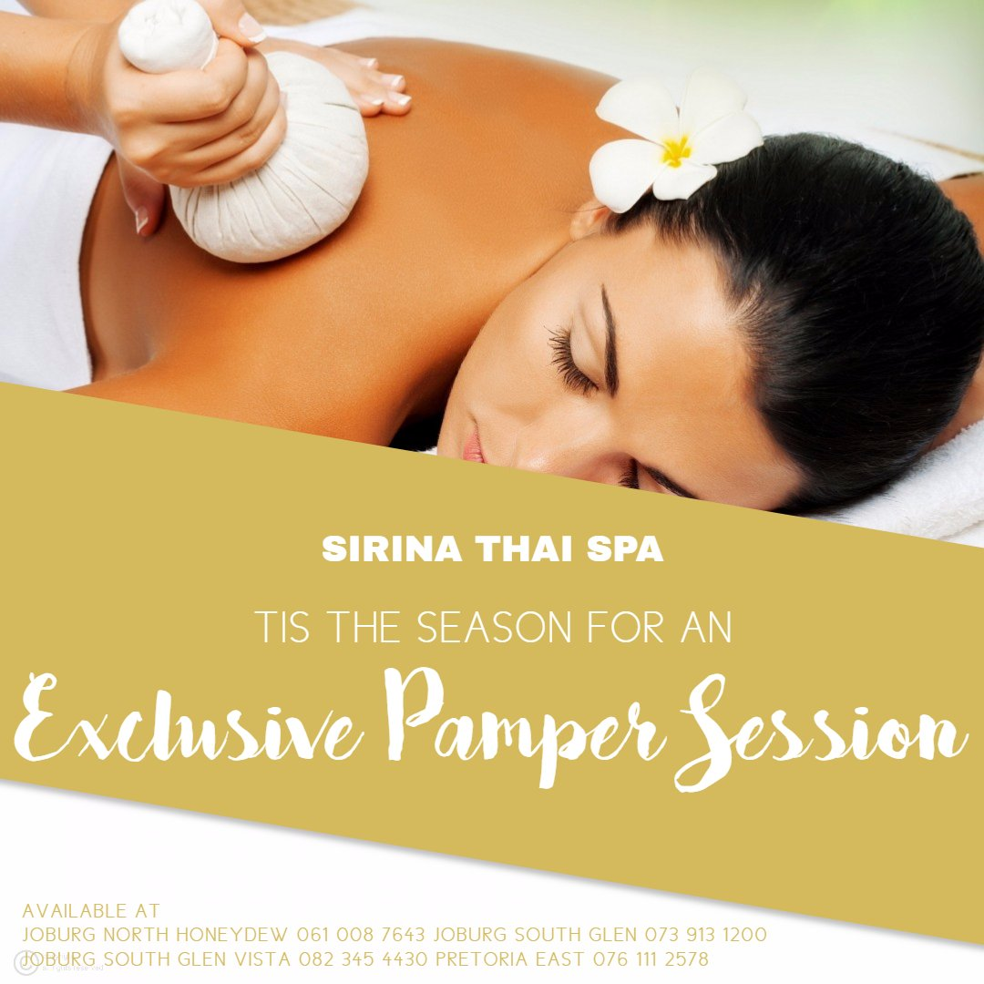 Exclusive Pamper Session at Sirina Thai Spa